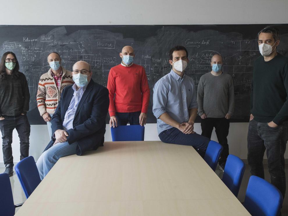 Investigadores del campo de la IA en el Instituto de Biocomputación y Física de los Sistemas Complejos de la Universidad de Zaragoza.