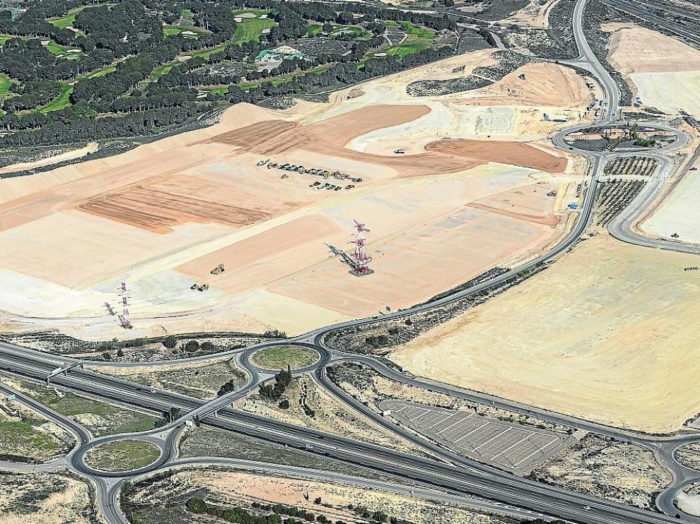 La constructora MLN ultima las obras de acondicionamiento de las 33 hectáreas adquiridas junto al club de golf La Peñaza.