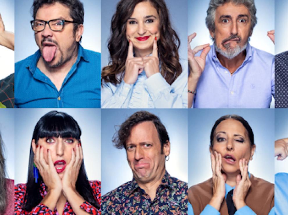 Algunos de los participantes en el programa de humor de Amazon.