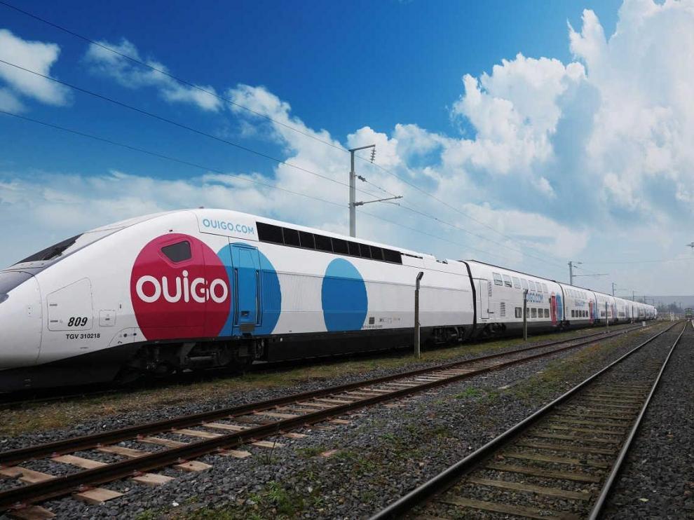Tren Ouigo.