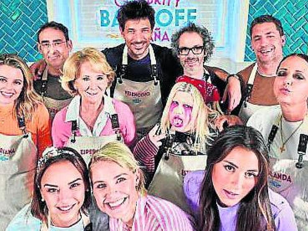Los 12 concursantes VIP de 'Celebrity Bake Off' España.