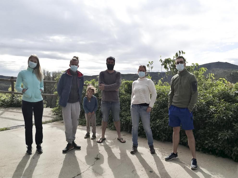 Grupos de turistas franceses en Guara / 13-5-21 / Foto HERALDO[[[FOTOGRAFOS]]]
