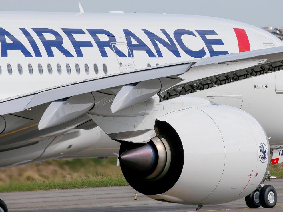 Un Airbus A350 de Air France