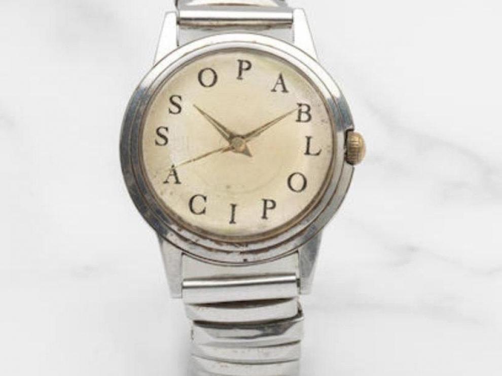Subasta de un reloj