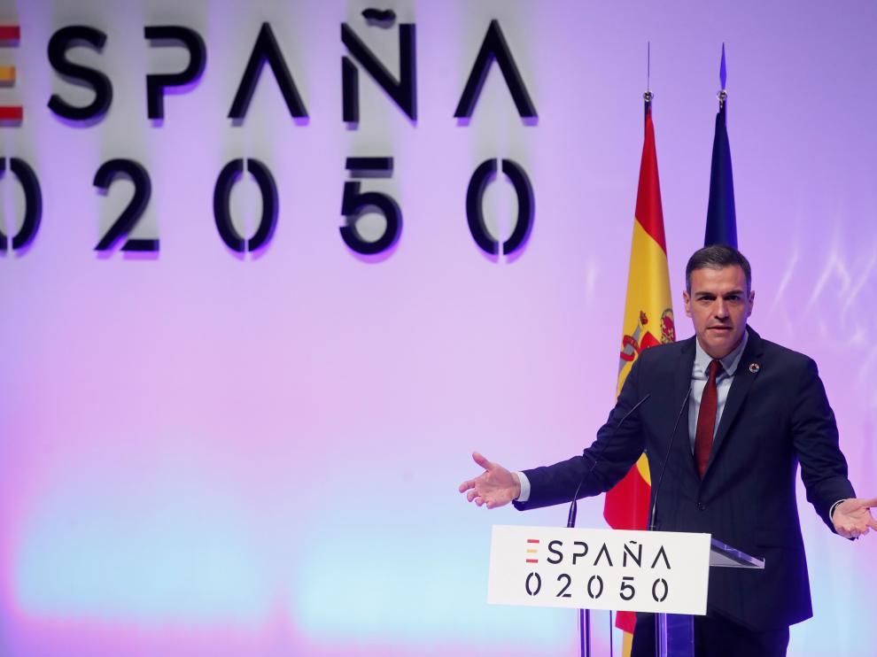 """Sánchez presenta hoy el proyecto """"España 2050"""" sobre los retos del futuro"""