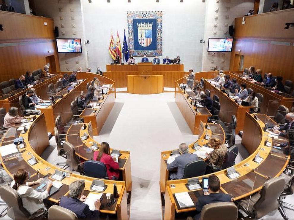 Pleno de las Cortes de Aragón de este viernes