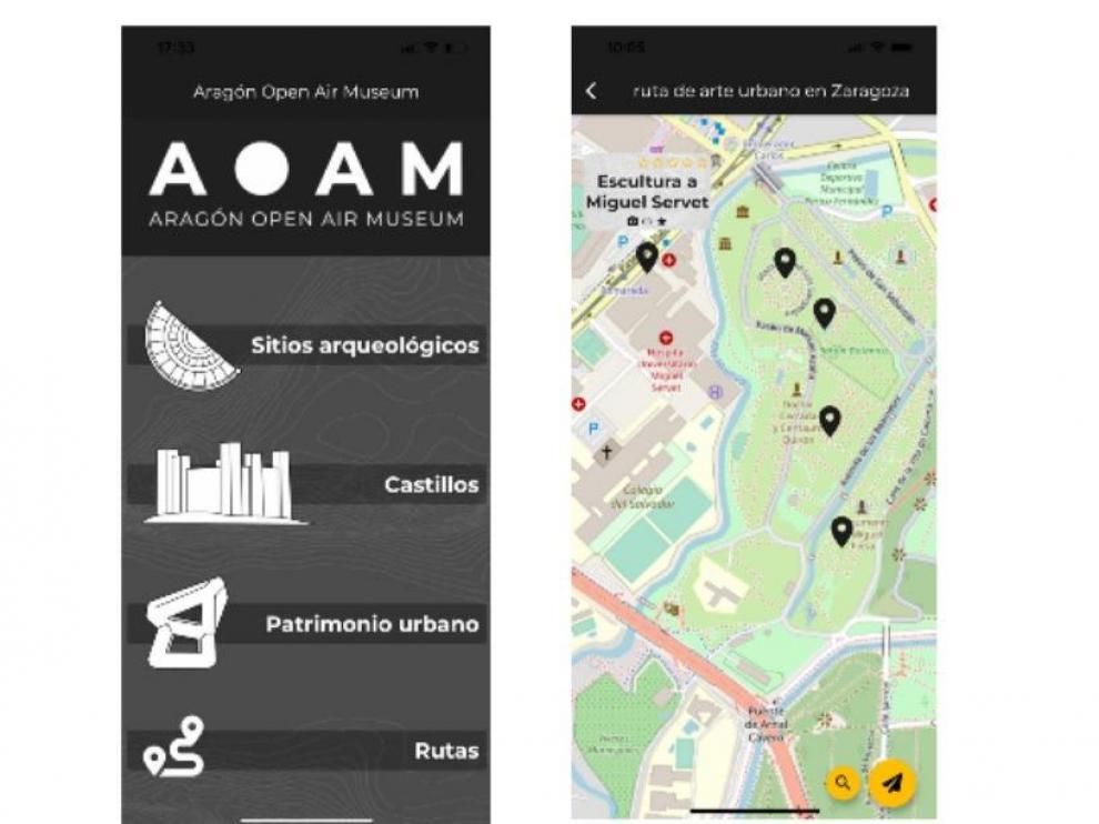Podemos usar Open Air Museum para planificar de lo que queremos conocer, trazando una ruta