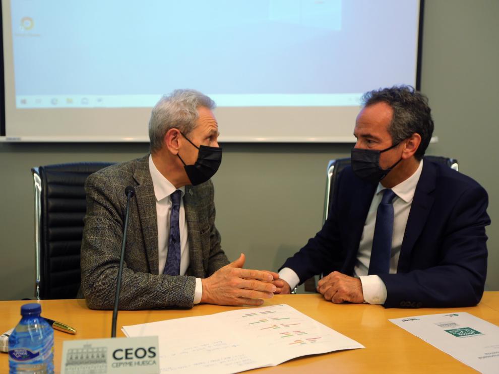 ceos cepine Se presenta el INDICE DE CONFIANZA EMPRESARIAL 2021 de la Provincia de Huesca, 24 - 5 - 21 foto pablo segura[[[FOTOGRAFOS]]]