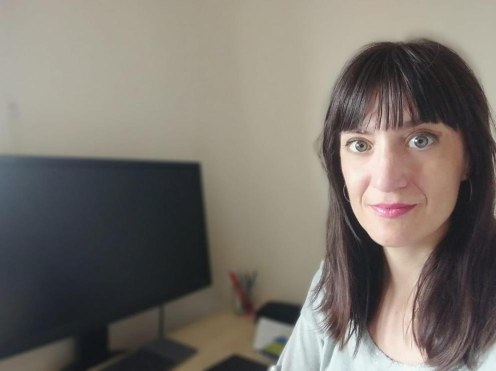 Sara López, investigadora zaragozana en Cambridge.