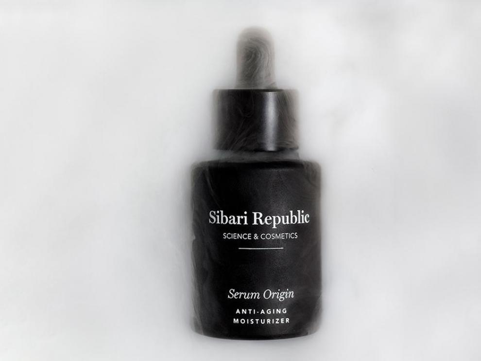 El serum Origin, producto estrella de Sibari Republic, es un ultraconcentrado de ácido hialurónico.