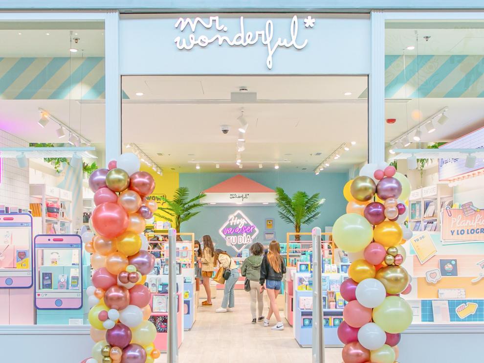 Tienda de Mr. Wonderful en el centro comercial Puerto Venecia de Zaragoza.