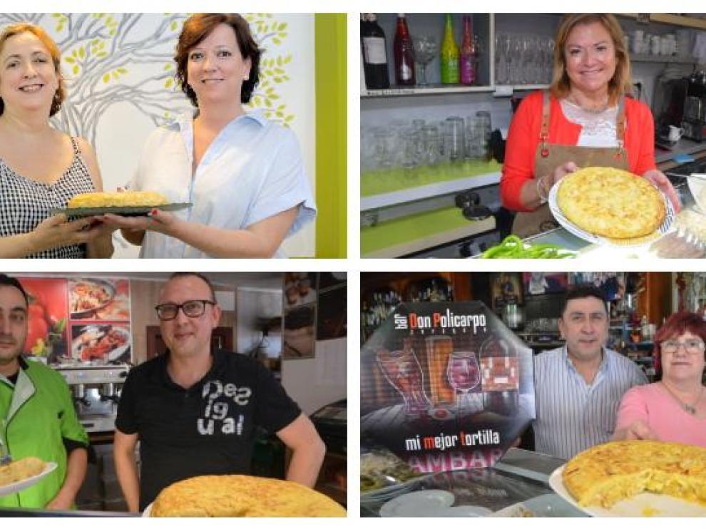 Una ruta de tortillas de patata por Zaragoza sin tanta fama pero que están muy ricas