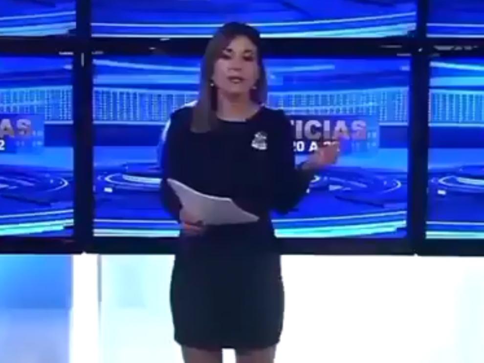 """""""Muere William Shakespeare"""", el lapsus de una presentadora de televisión argentina."""