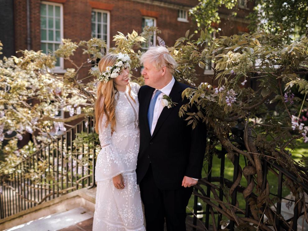 Boda de Boris Johnson y Carrie Symonds