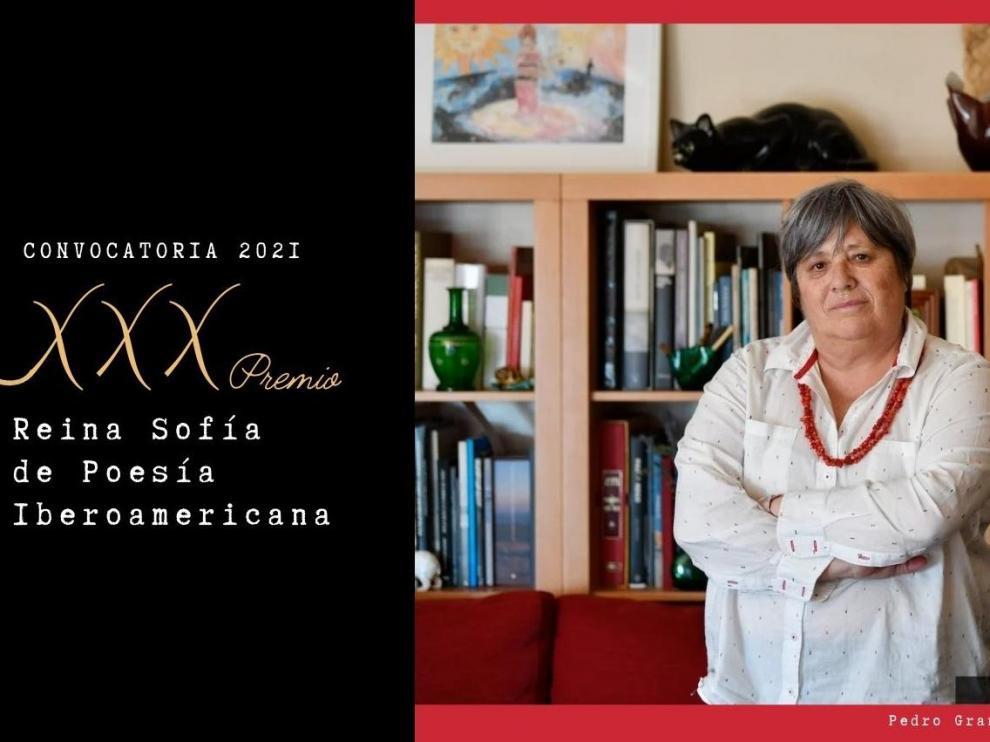 La poeta portuguesa Ana Luisa Maral, Premio Reina Sofía de Poesía Iberoamericana.