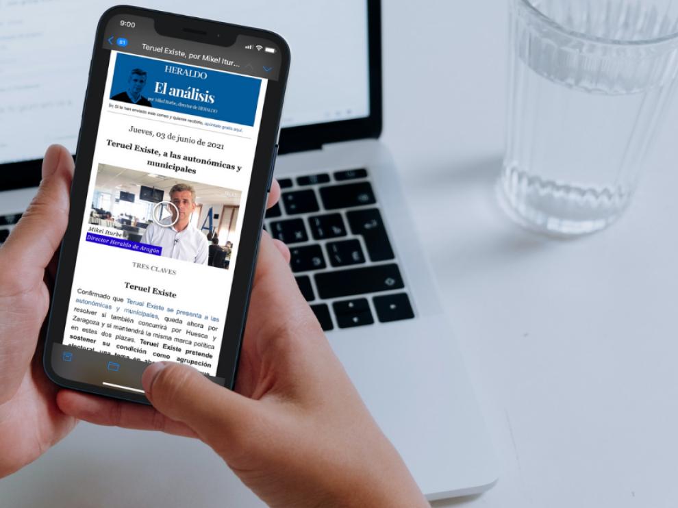 Descubre nuestra oferta de newsletters y apúntate a las que más interesen