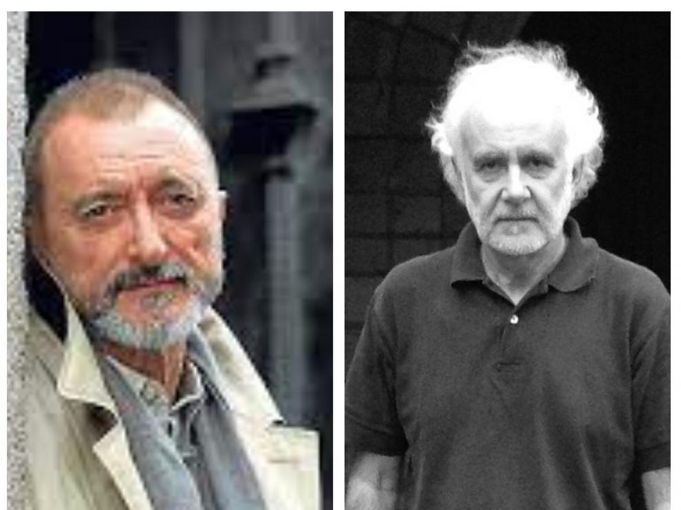 Arturo Pérez Reverte y Ramón Andrés.