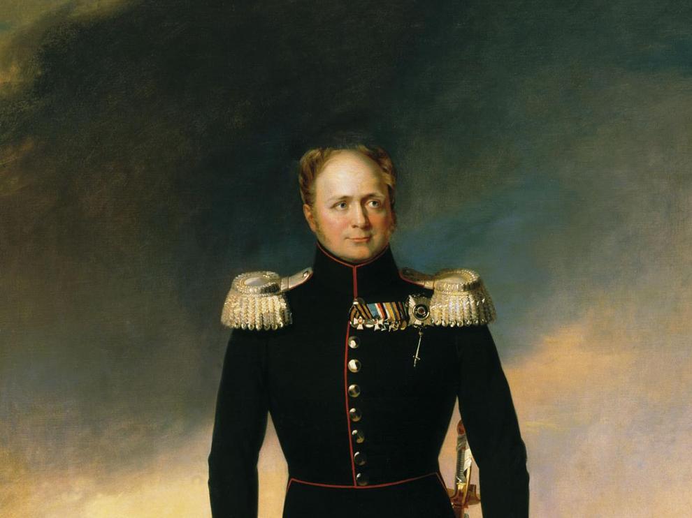 Retrato de Alejandro I de Rusia, obra de George Dawe
