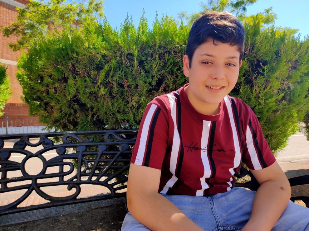 Xoel Tarín, el niño de Cariñena que compite en 'La Voz Kids'