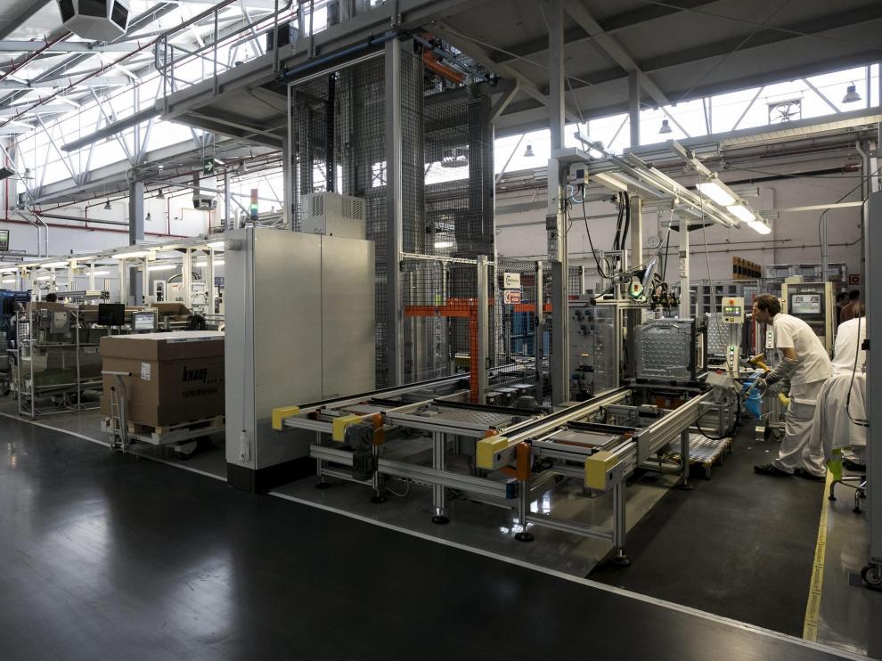 Instalaciones de la planta de BSH Electrodomésticos España en Montañana.