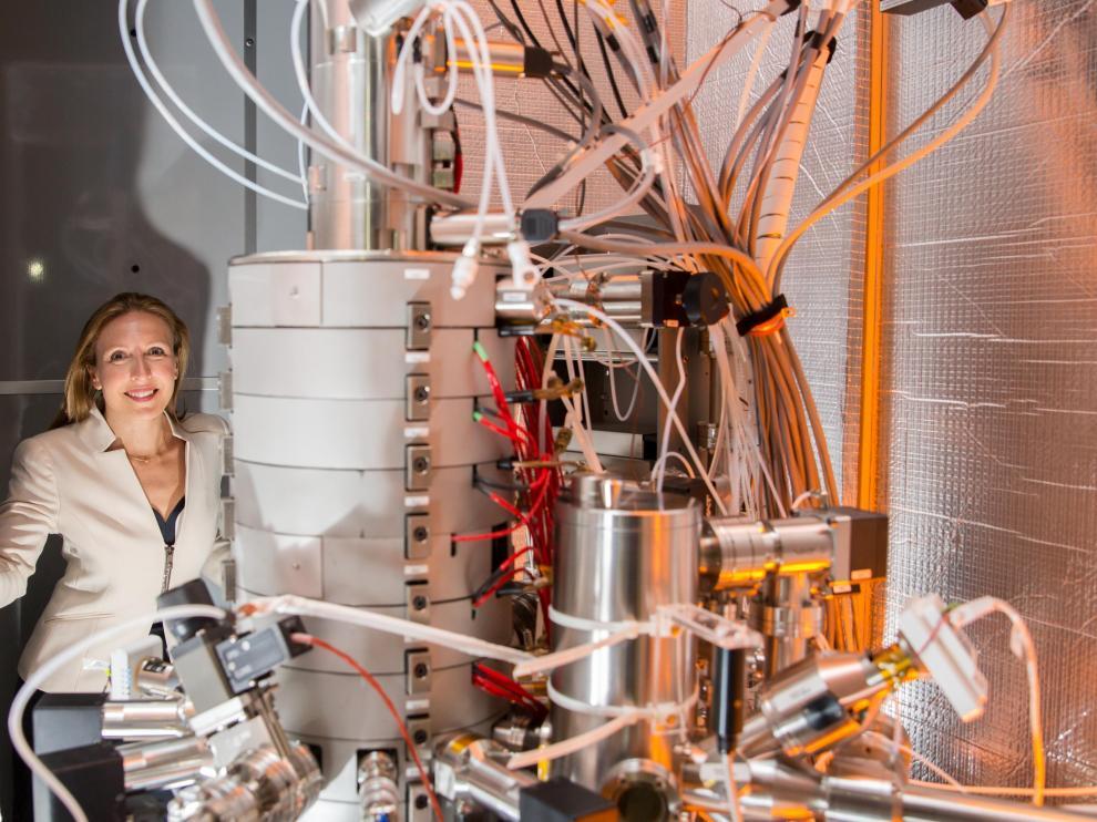 Valeria Nicolosi, catedrática de Química en el Trinity College de Dublín