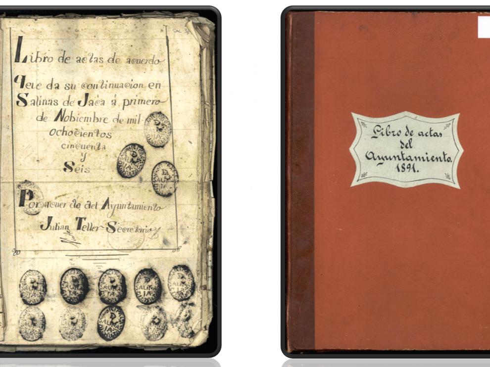 Uno de los documentos digitalizados del proyecto puesto en marcha por el Servicio de Archivos de la Comarca Hoya de Huesca.