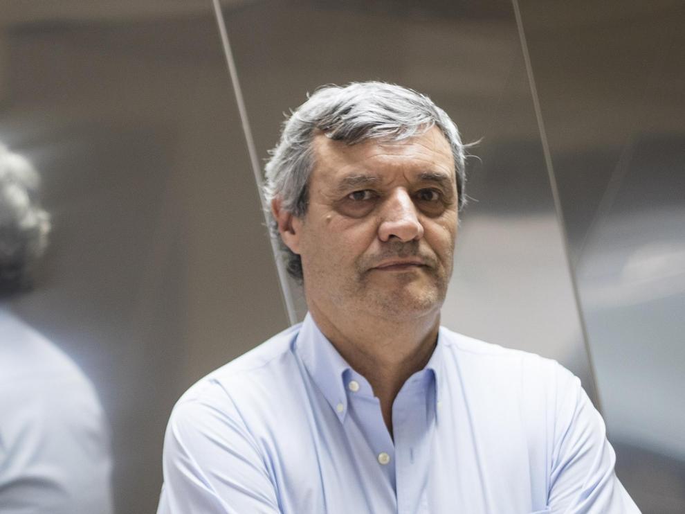 Imagen de Fernando de Miguel, secretario provincial del SEPE en Zaragoza.