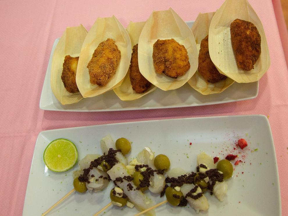 Algunas de las tapas que se pueden degustar en Calatayud.
