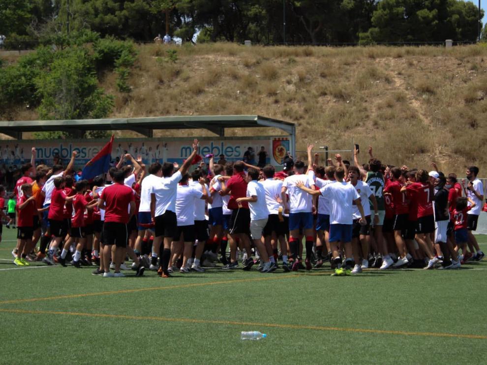 El Montecarlo celebra su ascenso a la DHJ
