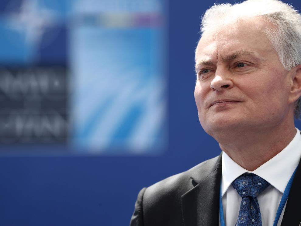 El presidente de Lituania, Gitanas Nauseda