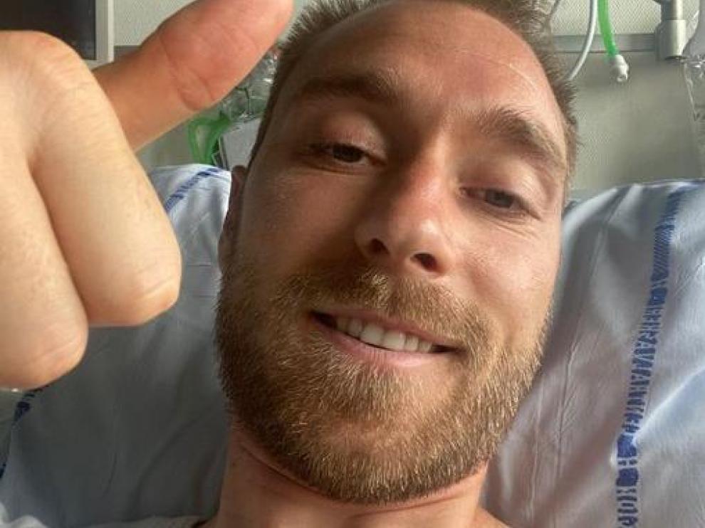 Imagen de Eriksen desde el hospital