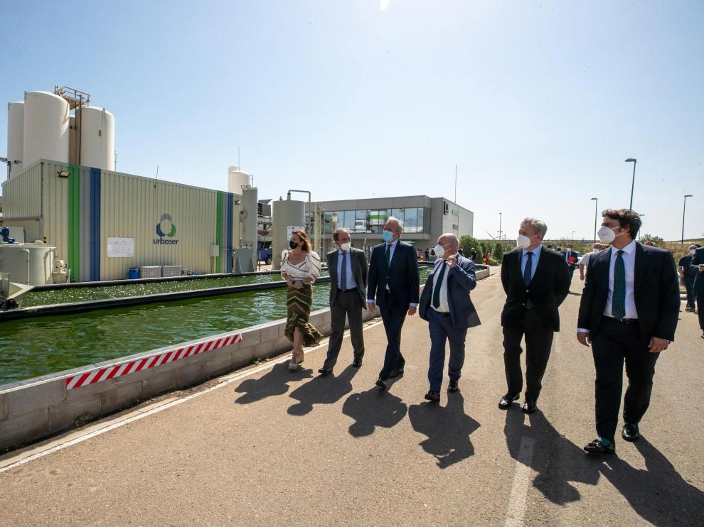 Presentan el proyecto de la primera biorrefinería urbana a escala industrial de Europa.-Javier Cebollada