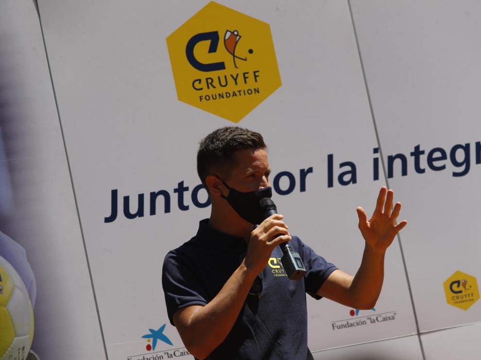 Inauguración del Cruyff Court Ander Herrera