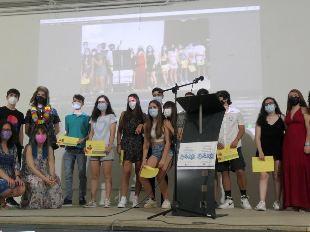 Los alumnos premiados