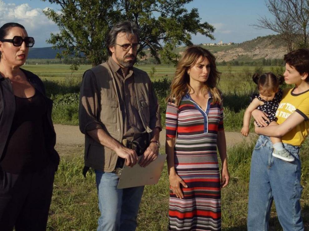 Fotograma de la película 'Madres paralelas'