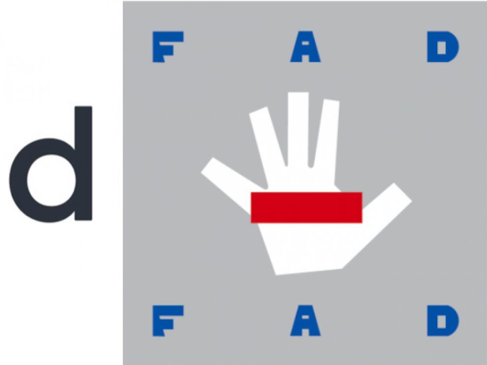 El logo de la FAD.