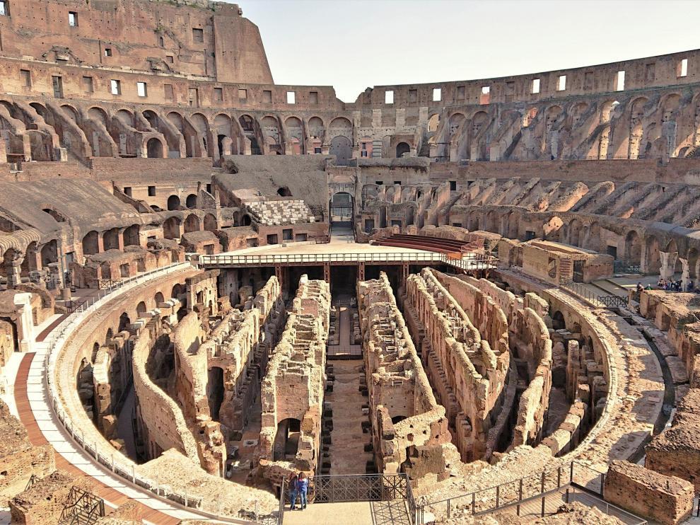 El Parque Arqueológico del Coliseo de Roma abrirá al público su hipogeo este sábado.
