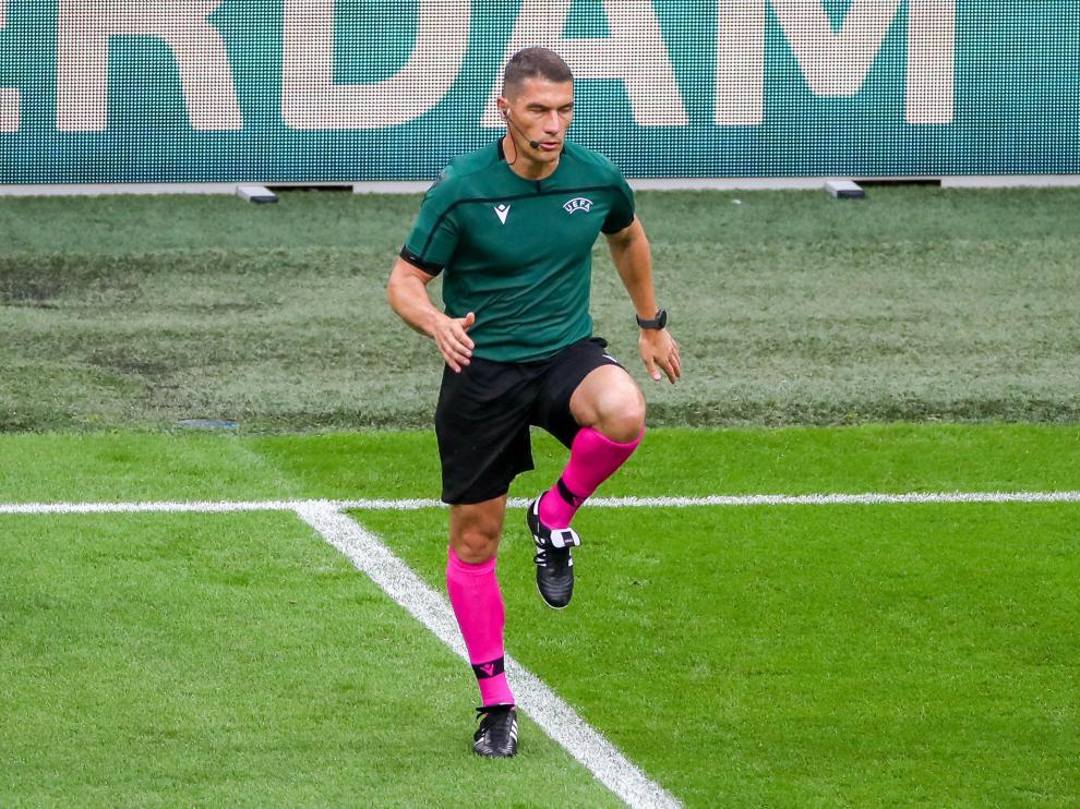 Cakir, árbitro de la Eurocopa.