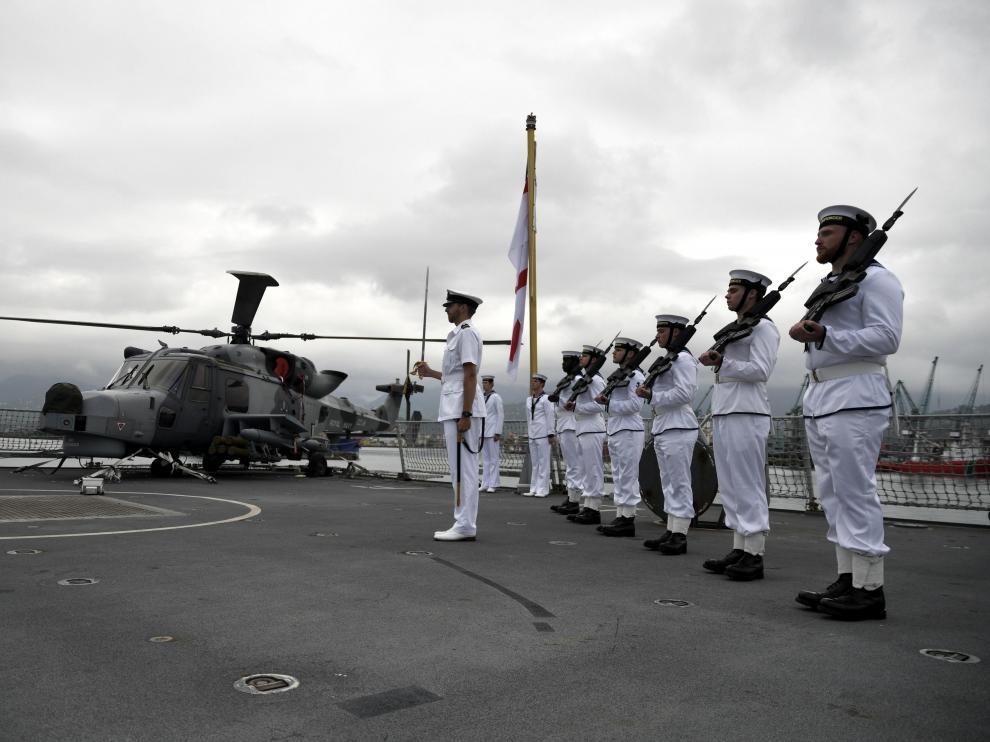 Destructor británico HMS Defender en una imagen de archivo.