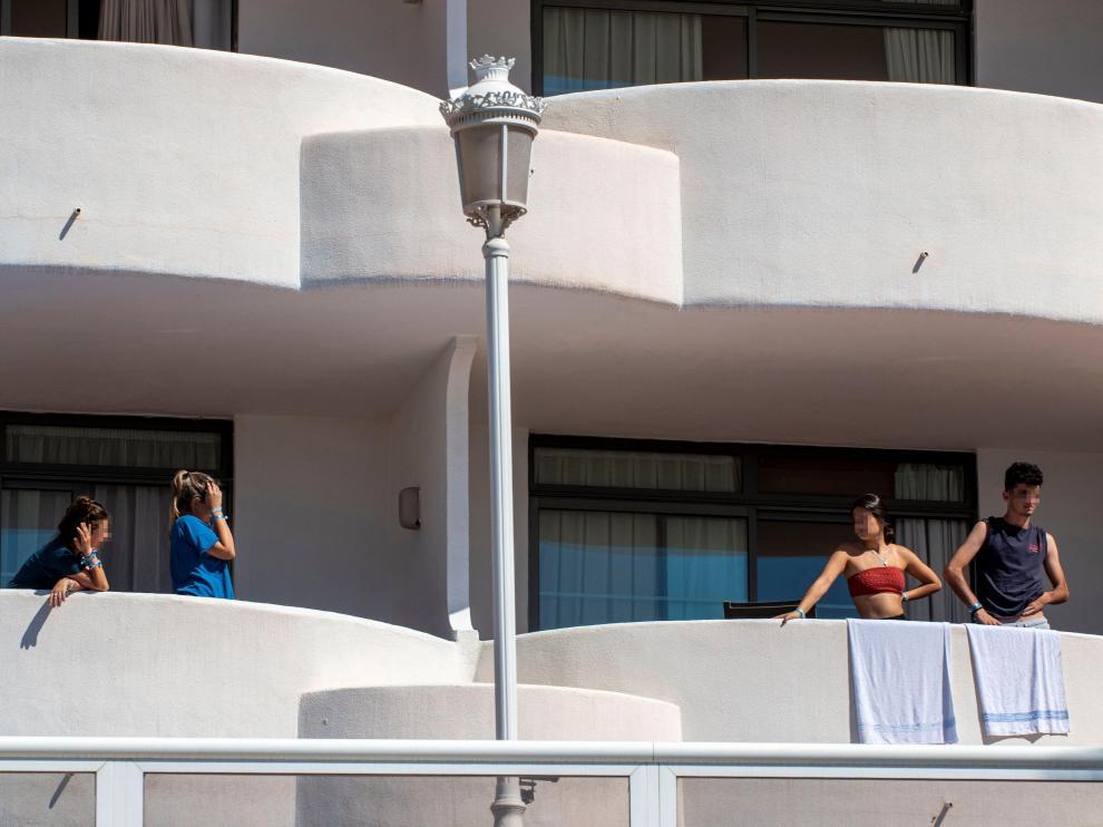 Uno de los hoteles de Mallorca donde se encuentran aislados jóvenes que han dado positivo