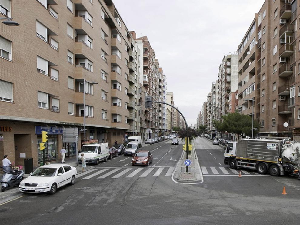 Viviendas en Zaragoza, en una imagen de archivo.