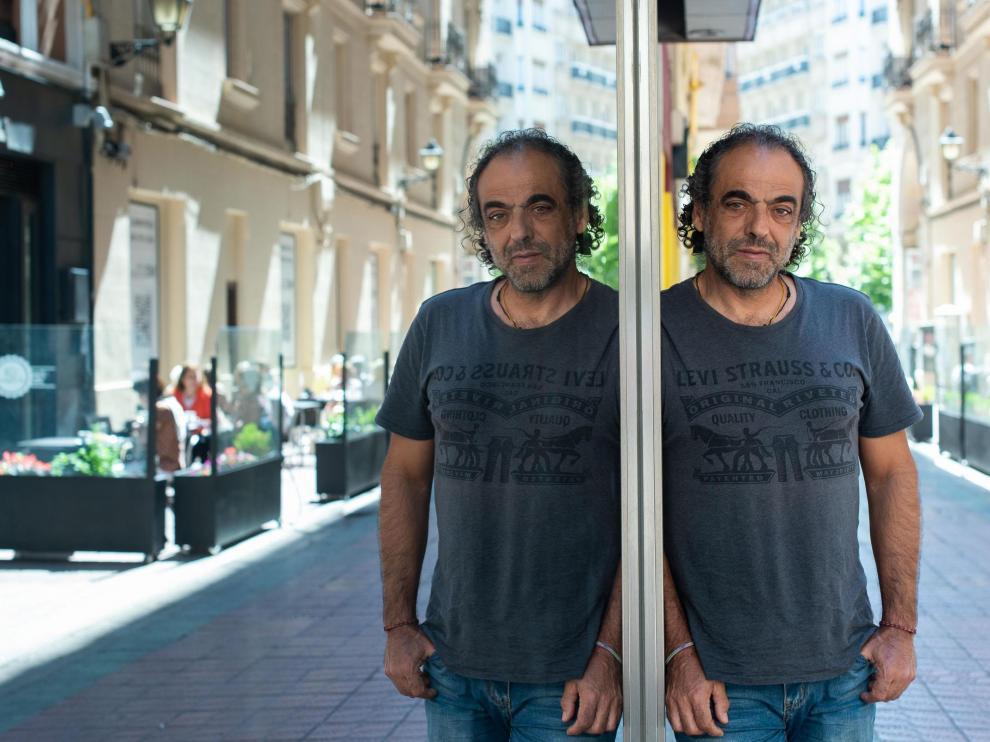 Carlos Pauner, preparado para iniciar el proyecto 'Leopardo de las nieves'.