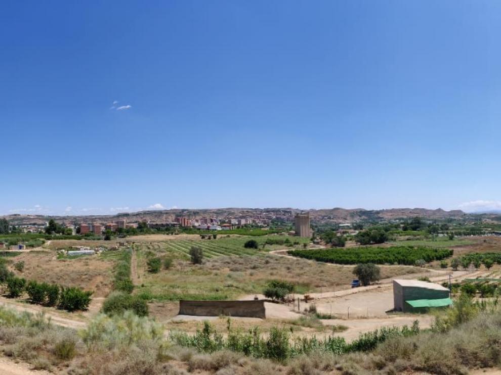 Imagen de los terrenos de Regiones Devastadas, en los que está proyectado instalar los nuevos equipamientos