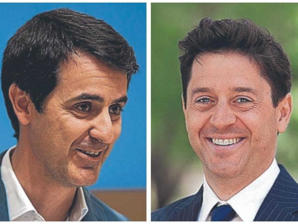 Pedro Navarro y Sebastián Contín.