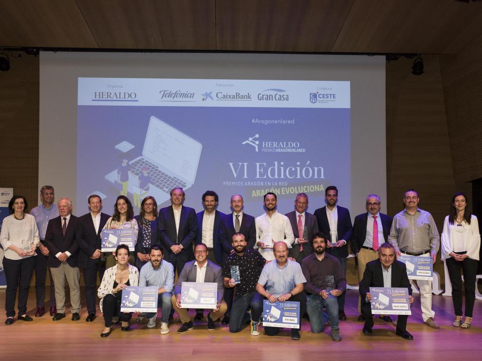 Gala de entrega de premios de la edición de 2019 en el Caixaforum de Zaragoza.