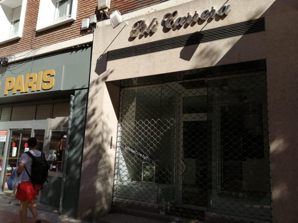 Tienda de Pili Carrera en Zaragoza.