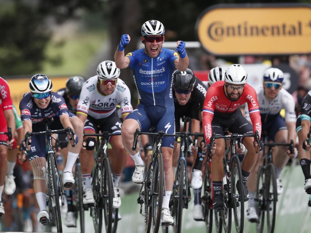 El británico Mark Cavendish (Deceuninck Quick Step) gana la cuarta etapa del Tour de Francia