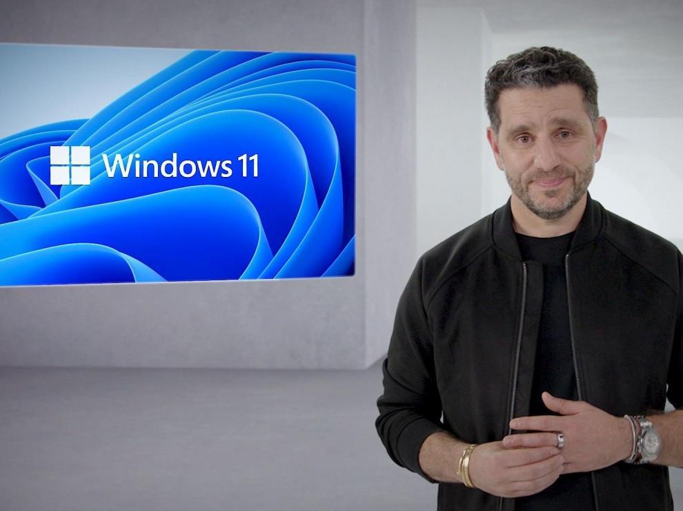 """Panay (jefe de Windows): """"Con Windows 11 ponemos al ser humano en el centro"""""""