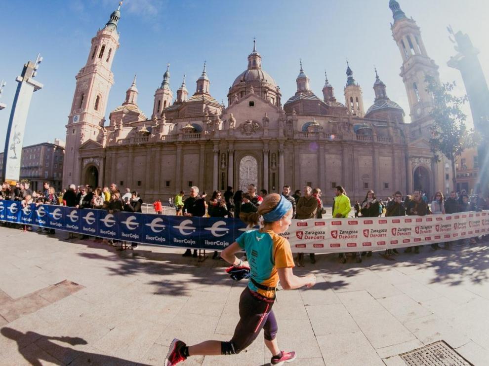 Pasada edición del maratón de Zaragoza