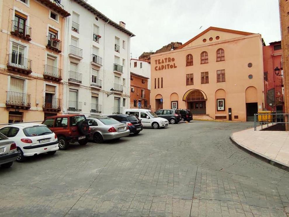 Plaza de San Andrés, de Calayud.